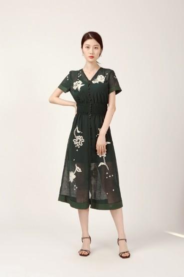 HOKABR红凯贝尔女装2020夏季新款连衣裙系列