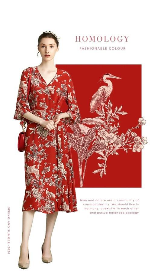 OMNIALUO欧柏兰奴女装2020夏季新款:人与自然,诗意对话