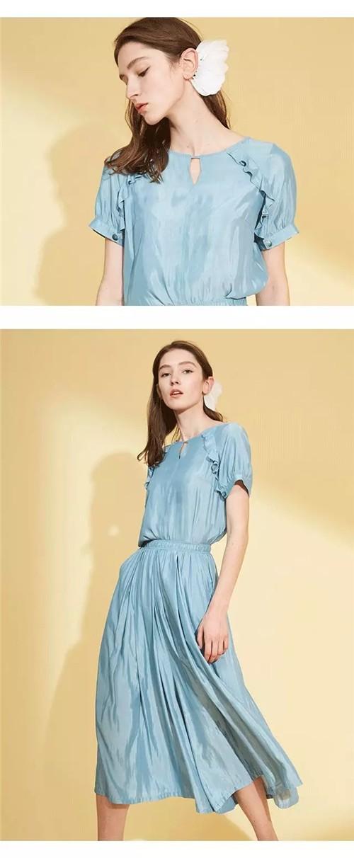 茜舞XIWU女装2020夏季新款搭配:会爱的人,都不简单