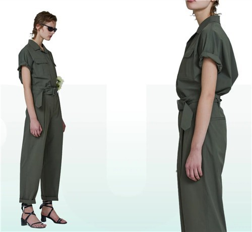 de Gencens女装2020夏季新款:轻松就能穿好看的「套」路