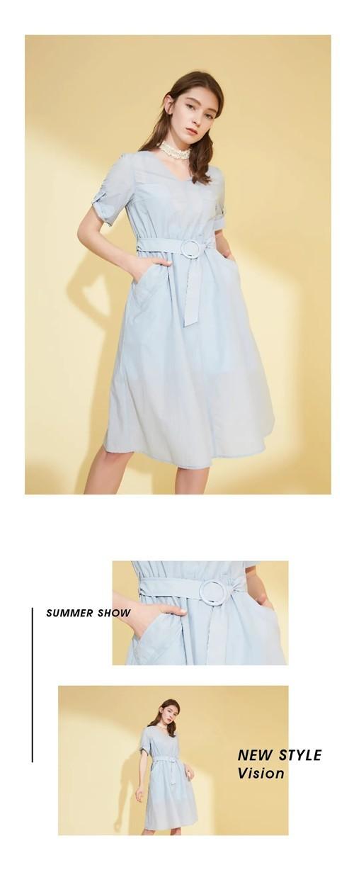 茜舞XIWU女装2020夏季新品系列:浅夏悠悠,静享安然