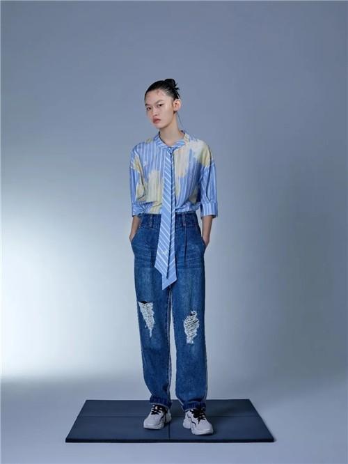 H·GENTEEL荷高女装2020夏季新品系列:与未来光合作用