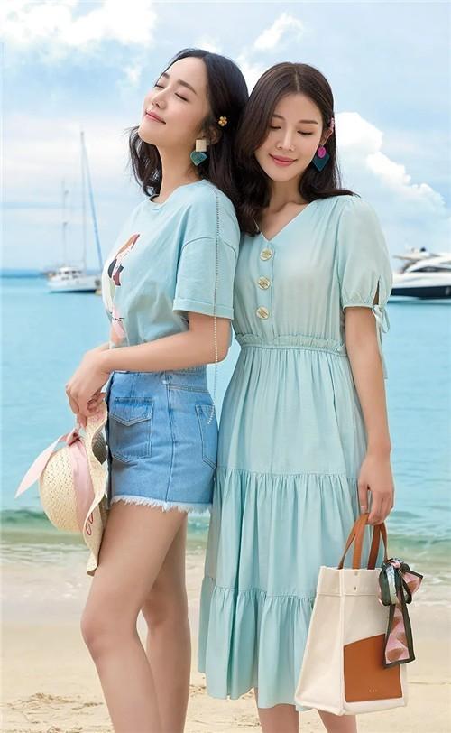 朵以DUOYI女装2020夏季新品系列服饰搭配