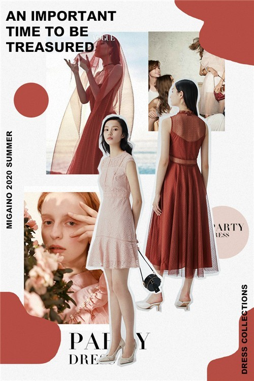 MIGAINO曼娅奴女装2020夏季新款连衣裙流行趋势