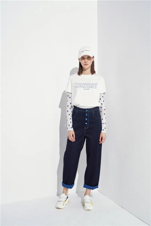 LAURELINE洛瑞琳女装2020夏季新品系列:无T恤,不夏天