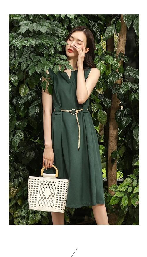 PAIPUER拍普儿女装2020夏季新品系列:她的视界·夏日新绿