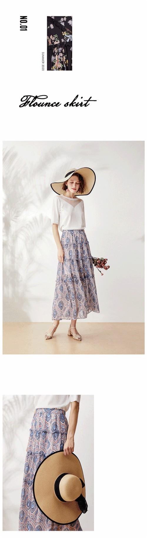 GEBANG哥邦女装2020夏季新品系列:半裙物语