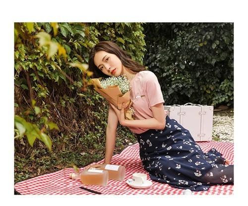 PAIPUER拍普儿女装2020夏季新品系列:她的视界·莫奈花园