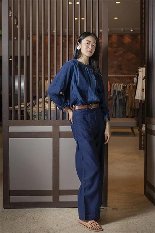 45R女装2020新品蓝染衬衫系列:不负自然传承之美