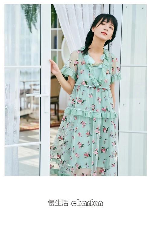 CHARFEN朝峰女装2020夏季美裙节丨见证百变一夏的你