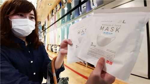 口罩卖得好,优衣库日本6月收入大涨逾26%