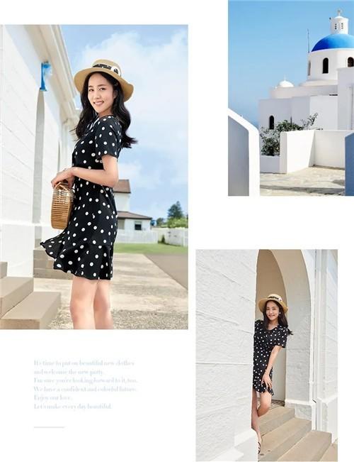 朵以DUOYI女装2020夏季三伏天1分钟穿搭:又美又凉爽!